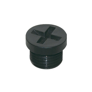 Plastic threaded plug PG-T/M-T type